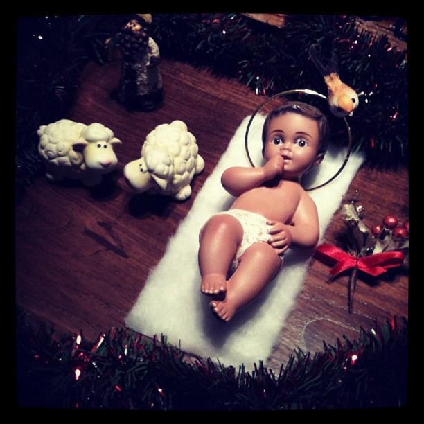 Hora de la retirada #7 - Figura niño Jesus
