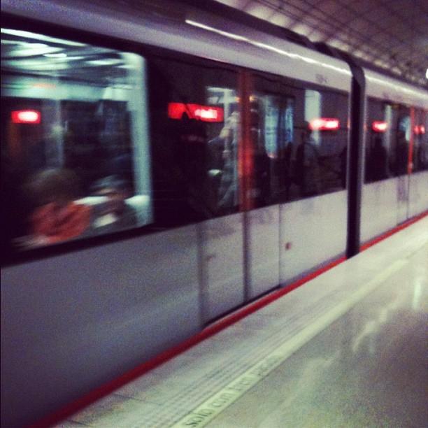 Ese lugar para hacer fotos #19 - Metro Bilbao