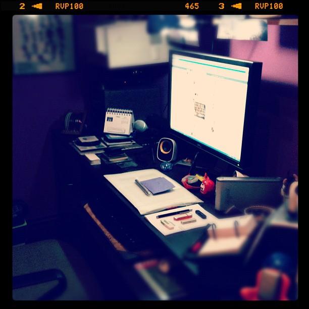 Trabajando #25 - Mesa de trabajo