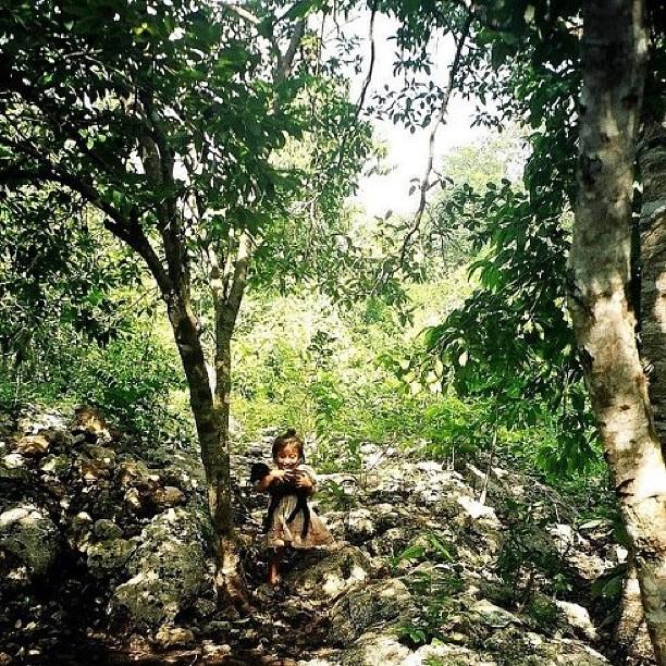 Esta foto la saque en el 2004 en un poblado Maya y me sigue enamorando #instagram -