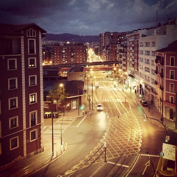 Poco gente en Bilbao #instagram