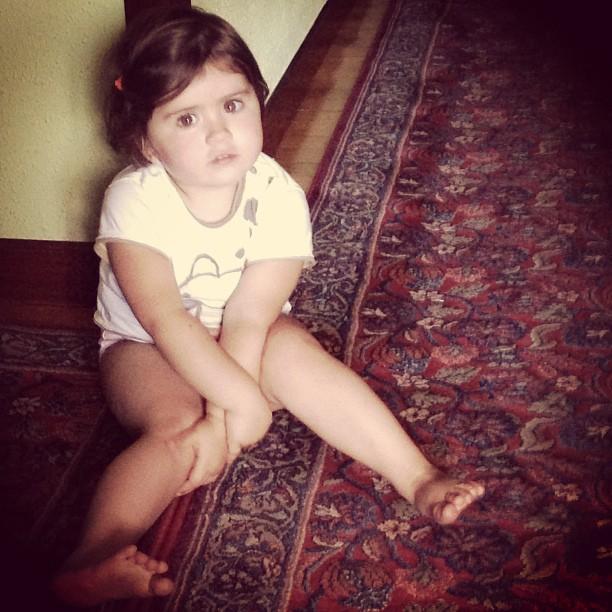 Preciosa mi ni niña #instagram -