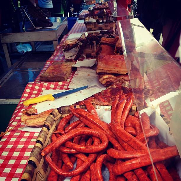 Feria agrícola #erandio #instagram -