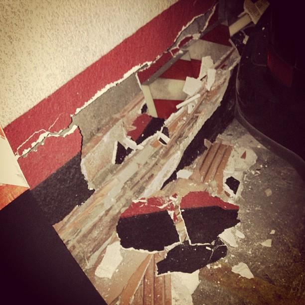 Garajes que se caen a trocitos #instagram -