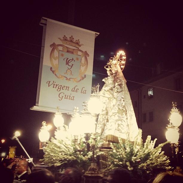 Virgen de Guía #Llanes #instagram -