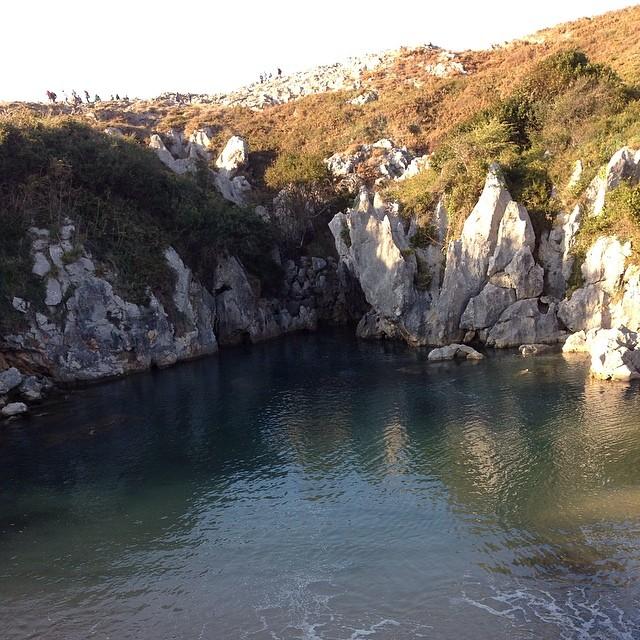 Playa de Gulpiyuri #llanes #instagram -