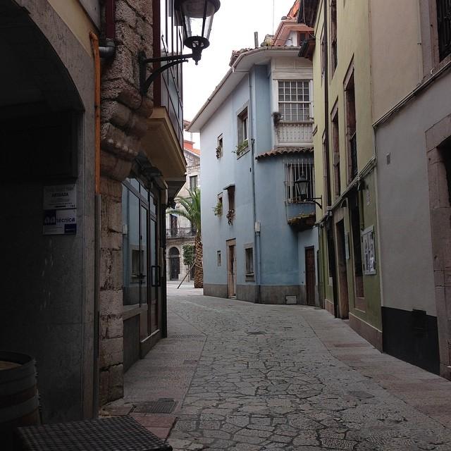 Calles vacías... #llanes #instagram -