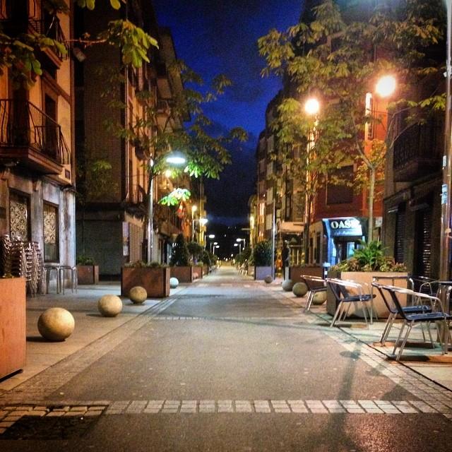 Calles vacías #instagram