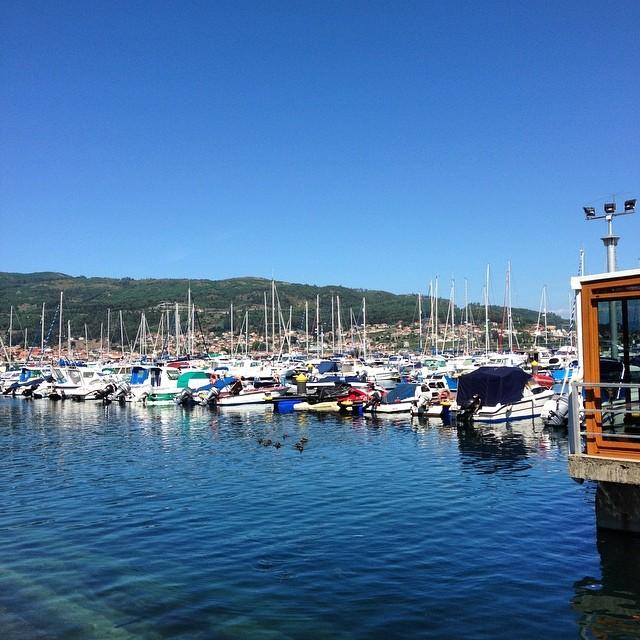 Puerto de Moaña #galicia #instagram