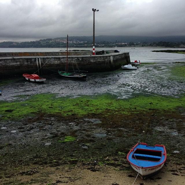 Mareas bajas #rianxo #galicia #instagram -