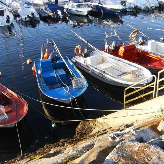 Barcas en el mar #instagram