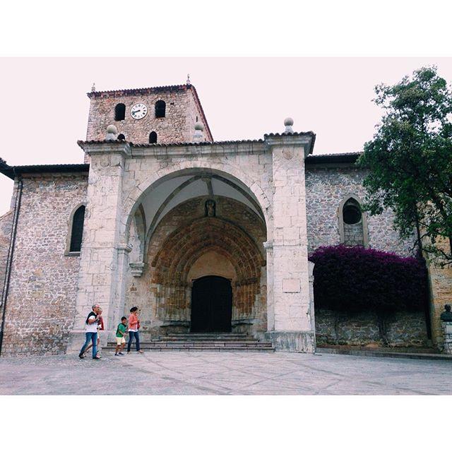 Santa María de #Llanes #ig_asturias #instagram -