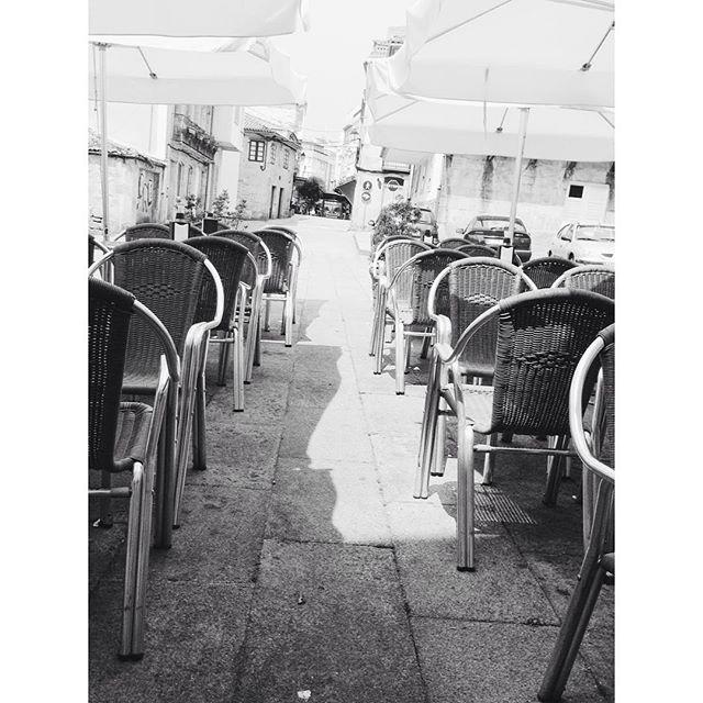 Terrazas vacías #bn #instagram