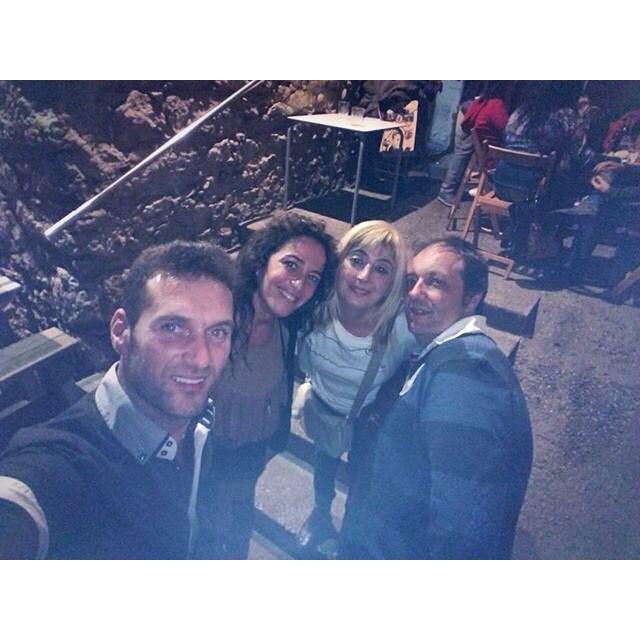 No soy yo de selfies pero si son en buena compañía y buen sitio molan #EBS #Llanes #instagram -